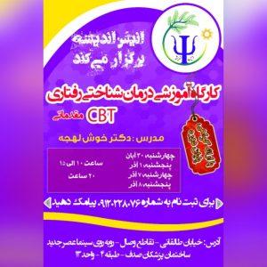 کارگاه روانشناسی درمان شناختی رفتاری در تهران