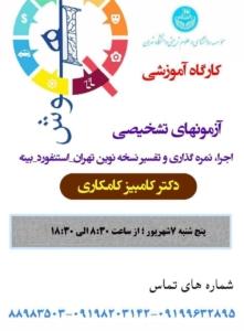 کارگاه استنفورد بینه در دانشگاه تهران