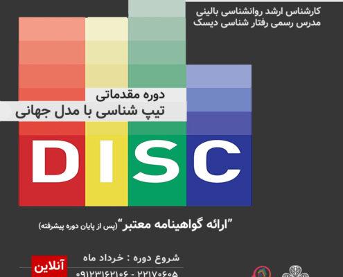 دوره آنلاین مقدماتی تیپ شناسی دیسک DISC