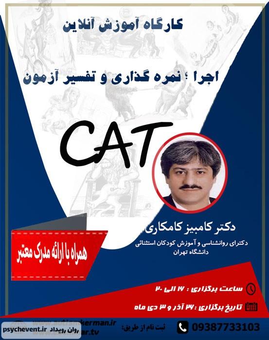 وبینار آزمون CAT (اجرا - نمره گذاری - تفسیر آزمون)