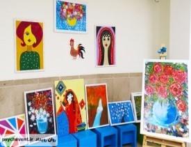 نقاشی درمانی اوتیسم