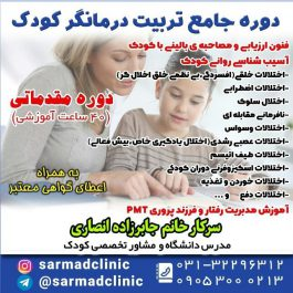 کارگاه دوره جامع  تربیت درمانگر کودک  (مقدماتی)