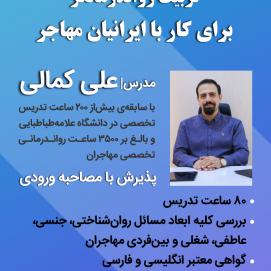 تربیت رواندرمانگر برای کار با ایرانیان مهاجر